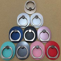 I Phone Holders Australia - Magnetic Finger Holder I Ring Universal Stand Bracelet for Cell Phone Iphone 7plus 6s Plus S9 Plus Galaxy Note 7 8 S10 Plus Lazy Kickstand