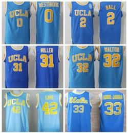 69859c129397 Bill Walton Jersey Australia - UCLA Bruins College Basketball Jersey  Russell Westbrook Lonzo Ball Zach LaVine