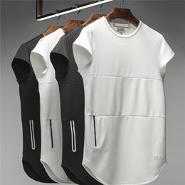 $enCountryForm.capitalKeyWord Australia - ASRV Mens Casual Sports GYM T shirts Summer Classical White Black Tees Short Sleeved Tops