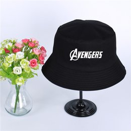 Fashion Avengers Logo Summer Hat Women Mens Panama Bucket Hat Avengers  Design Flat Sun Visor Fishing Fisherman Hat 0d8ce96f9e9