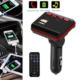 $enCountryForm.capitalKeyWord Australia - LCD Car MP3 MP4 Player Wireless FM Transmitter Modulator SD  MMC Card w  Remote Auto Accessories #@@