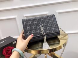 Cosmetic Bags Locks Australia - Brand handbag 2019 fashion new quality Women's Designer Handbag Chain Tote bag Lock Shoulder Messenger Bag Cosmetic Handbags Female bag