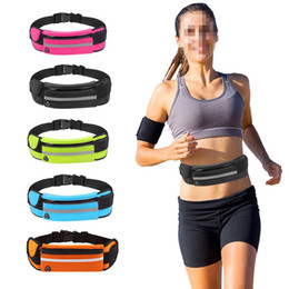 Outdoor Sports Pockets Anti-Theft Mobile Phone Running Belt Multi-Function Men And Women Invisible Kettle Pockets phone water bottle bag from bit bar manufacturers