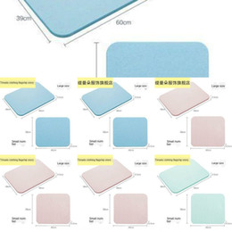 made board NZ - foot bathroom Non-slip anti-skid mat bathroom diatomite water absorbing floor mat diatomite foot stepping stone board Japanese-style