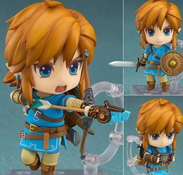 Link action figures online shopping - The Legend of Zelda Nendoroid Breath of the Wild mm PVC Action Figure Model Toys Zelda Link Nendoroid Toy