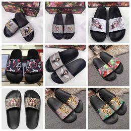 a2c46cb47 Flip Flop house shoes online shopping - Luxury Designer Shoes Slides Summer  Beach Indoor Flat G