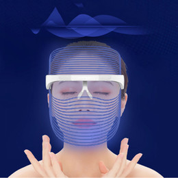skin anti wrinkle tools Australia - 3 Colors LED Light Therapy Face Mask Anti Acne Anti Wrinkle Facial SPA Instrument Treatment Beauty Device Face Skin Care Tools