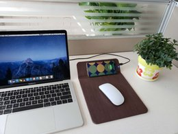 Wholesale Mobile phone wireless charger wireless mouse pad is suitable for mobile phone wireless charging desktop mouse pad creative products