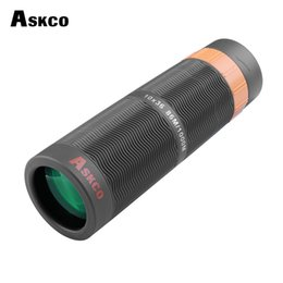 $enCountryForm.capitalKeyWord Australia - Askco Powerful 10x36 Hd Full Nitrogen Waterproof Monocular Telescope Bak4 Prism Binoculars Telescope With Phone Camera Adapter T190627