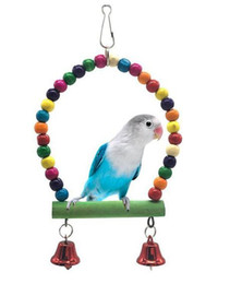 Discount stand parrots - Small and Medium Parrot Articles Parakeet Swing Stand Pet Articles W827