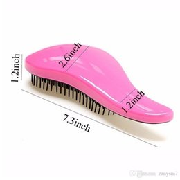 Shower combS online shopping - Magic Handle Tangle Detangling Comb Shower Hair Brush detangler Salon Styling Tamer exquite cute useful Tool Hot hairbrush
