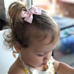 $enCountryForm.capitalKeyWord Australia - 2019 Hot Lovely Baby Girls Print Flower Bohemian Style Bow BB Hair Clips Headwear Children Cute Cotton Hairpins Hair Accessories
