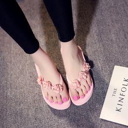 $enCountryForm.capitalKeyWord Australia - Fashion Sandals Summer Fashion Pearl Platform Shoes Wedge heel Flip Flops Beach Slippers Woman Girls Ladies Beauty Cosmetics Shoes Slippers