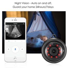 WIFI Kablosuz Kamera Siyah 360 Panorama 720 P Bulut Depolama Akıllı Ev Güvenlik WiFi IP 1.8mm / 3.6mm Lens Kamera Sıcak Satmak