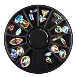 $enCountryForm.capitalKeyWord Australia - One Bottle Crystal Shiny 3D Nail Art Rhinestones AB Colorful Horse Eye Waterdrop Football Diamond DIY Decor Charms