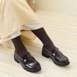 Brown Suits Style Australia - 2019 New Japanese Style College Student Shoes Cosplay Lolita Shoes for Women Girls Fashion Black Brown Halloween Platform Shoes Size 35-40
