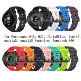 $enCountryForm.capitalKeyWord NZ - Sports Smart Watch Strap Replacement Soft Silicone Wrist Watch Band Strap for Garmin Forerunner 945 935 Fenix 5 5plus 22mm band New Sale