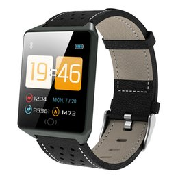 $enCountryForm.capitalKeyWord Australia - Bluetooth Smart Watches For Men Waterproof Ip67 Sports Camera Call Leather Fitness Smart Watch Men Women For Iphone Android Ios MX190716