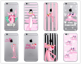 Discount apple cell phone models - Pink Panther Cell Phone Case More Painted Models For Iphone Xr 6 7 8 X Plus Xs Max TPU Transparent Soft Phone Cases