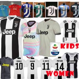 promotion 2019 League player version custom Juventus home Soccer Jersey 18  19 7 RONALDO DYBALA Soccer Shirt MANDZUKIC PJANIC uniform S-XL 778594b5f