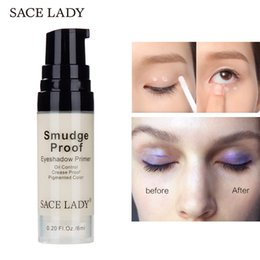 cream color eyeshadow Australia - Sace Lady Smudge Proof Eyeshadow Base Primer Waterproof Oil Control Pigmented Color Eye Shadow Primers Professional Long Lasting Eyes Makeup