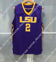 2a6836e583d9 Cheap custom LSU TIGERS  2 NCAA BASKETBALL JERSEY PURPLE ben simmons Stitched  Customize any number name MEN WOMEN YOUTH XS-5XL