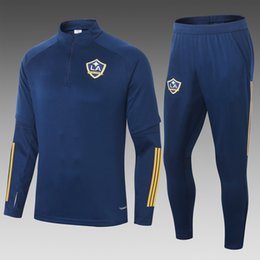 soccer track tops Canada - Top 2020 2021 mls Los Angeles Galaxy soccer Tracksuit long Sleeve CHICHARITO Track jacket LA Galaxy chandal training suit survêtement veste