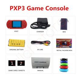 $enCountryForm.capitalKeyWord Australia - Factory Wholesale Mini Portable PXP3 16 Bit PVP 8Bit Game Video Console TV-Out Games Slim Station Gaming Console Player Child Xmas Best Gift