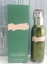 Full lamp online shopping - Drop shipping Famous brand la mer regenerating serum the brilliance brightening essence the lifting contour serum ml Skin care lotion