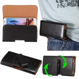 3.5 inch phones Australia - 360 Rotating Universal Hip Leather Belt Clip Holster Case For 3.5-6.3 inch Cell Phone iPhone 11 XR XS Max Samsung Note 10 S10 Huawei OnePlus