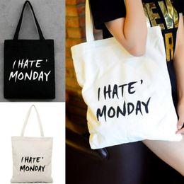 Discount girls fashion simple handbags - 2019 NEW Fashion Shopping Bag Women Canvas Storage Handbag Simple Portable Lady Girls Hand Tote Large Capacity Reusable