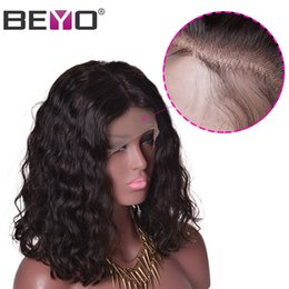 $enCountryForm.capitalKeyWord Australia - Beyo Short Bob Lace Front Wigs Human Hair Wigs For Black Woman Peruvian Malaysian Raw Virgin Indian Hair Natural Wave Remy Beyo