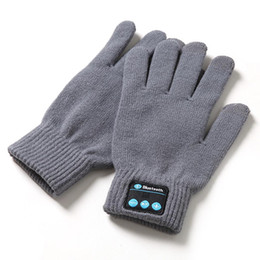 Fashion Touch Screen Phone NZ - 3 2H Winter Gloves Screen Mobile of Pair 3 Wireless Wear Phone Hands-free Stereo Unisex Bluetooth 0 6H Touch Warm Smart
