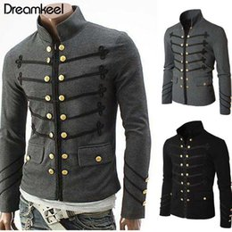 $enCountryForm.capitalKeyWord Australia - Coat Solid Middle Ages Male Carnival Clothing 2019 Man Purim Victorian Gothic Style Jacket Zipper Christian Medieval Knight Y