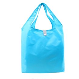 $enCountryForm.capitalKeyWord UK - wholesale 1000pcs lot Eco Reusable foldable polyester Shopping bags supermarket waterproof grocery Tote custom size logo Accept