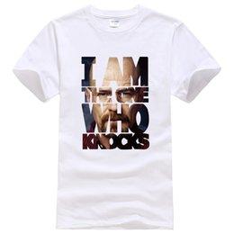 Orange Tee Jersey UK - T-shirts 2019 Summer Short Sleeve Men's T-shirt Fashion Breaking Bad Casual T Shirt Men Jersey Homme Fitness Hip Hop Top Tees