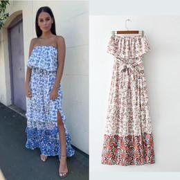 $enCountryForm.capitalKeyWord Australia - Cross-border European and American Women's Dresses Summer New Style Fashion, Slim, Brassiere, Broken Printed Received Waist Dresses 9552