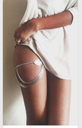 Thigh jewelry online shopping - European and American Cross border Jewelry Fatima s Hand Thigh Chain Sexy Beach Party Accessories Boho