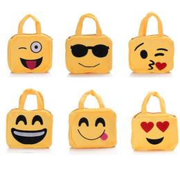 $enCountryForm.capitalKeyWord NZ - High Quality Cute Children School Shoulder Bag Emoji Emoticon mochila feminina Satchel handbag Children Toy for Girls