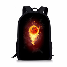 3139deeafff THIKIN Basketball 3D Print Backpacks for High School Student Cool  Schoolbags Boys Bookbag Fashion Sports Design Mochilas Custom