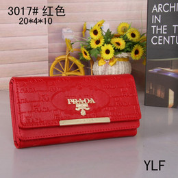 fold hand bag Australia - 2019 new tide brand ladies wallet women, multi-fold buckle simple and stylish hand-held wallet, ladies long multi-color optional