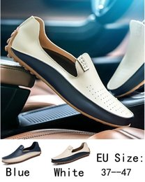 ventilating lace Australia - Sycatree 2018 Fashion Casual Shoes for Men Men's Driving Loafer Shoes Ventilate Sport Outdoor Big Plus Size 36-47