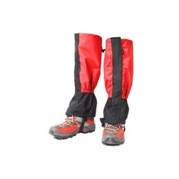 boot leg gaiters UK - Waterproof Cycling Shoe Cover Men Women Kids Ski Boots Snow Gaiters Outdoor Hiking Trekking Climbing Skiing Leg Legging Gaiters