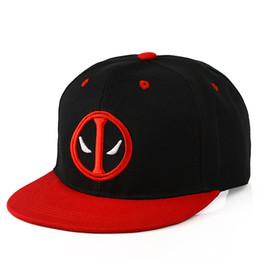 Unisex Deadpool Embroidery Baseball Caps Fashion Men Women Funny Marvel Hat  Adjustable Snapback Casquette Hockey Caps 9639ecb6d2a0
