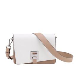 $enCountryForm.capitalKeyWord Australia - Genuine Leather Woman Package Impact Width Straps Organ 2019 New Design Pattern Small Square Single Shoulder Satchel Beach Crossbody Bags
