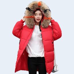 949a9f7a42e winter Women Snow White Down Coat Plus size Fashion jacket hoodie long  Parkas warm Sweet Jackets Female winter coat clothes