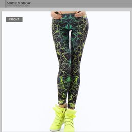 $enCountryForm.capitalKeyWord Australia - Fashion New Women Leggings 3d Printed Color Ray Fluorescence female Leggins womens Pant Legging For Woman