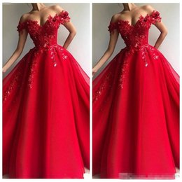 White Beaded Short Prom Dresses Australia - Off Shoulder Beaded A-Line Prom Dresses 2019 Short Sleeves Special Occasion Party Gowns Formal Robe De Soiree Plus Size
