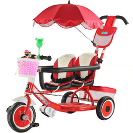 $enCountryForm.capitalKeyWord Australia - Children tricycle baby twin bicycle multifunctional tricycle baby cart folding pedals