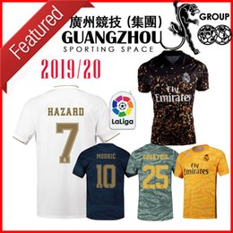 soccer jersey real madrid away Australia - 19 20 REAL MADRID fourth 4 th away SOCCER JERSEYS GOALKEEPER COURTOIS 25 MODRIC 10 HOME 2019 BALE JERSEY ASENSIO HAZARD 7 jersey SHIRTS